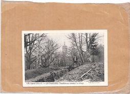 GUERRE 1914/1915 - LES TRANCHEES - Tranchées Aux Abords D'un Village - NANT - - Guerre 1914-18