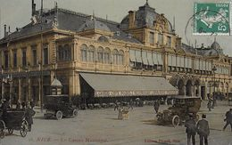 06 )   NICE  - Le Casino Municipal  (  Grand Café Pomel Restaurant Brasserie Viennoise  ) - Cafés, Hôtels, Restaurants