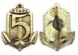 Insigne Stage Commando 5°RIAOM. Arthus Bertrand - Hueste