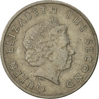 Etats Des Caraibes Orientales, Elizabeth II, 25 Cents, 2004, British Royal Mint - Caribe Oriental (Estados Del)