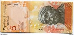 Venezuela - 5 Bolivar 2007 - 13  UNC - Venezuela
