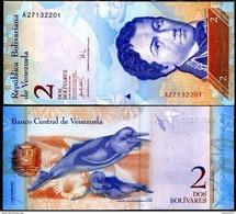 Venezuela - 2 Bolivar 2007 - 13  UNC - Venezuela