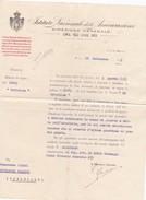DOCUMENTO - ISTITUTO NAZIONALE DELLE ASSICURAZIONI - DIREZIONE GENERALE - ROMA - Italia
