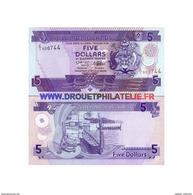 Salomon - Pk N° 14 - De 5 Dollars Comme Neuf - Salomonseilanden