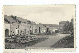 Willerzie - Un Aspect Du Bas Du Village - Circulé  - Arduenna Pour Melle M. Bruck, à Willerzie - Gedinne