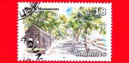 MAURITIUS - Usato - 2013 - Siti E Monumenti - Porto Di Souillac - Le Batelage - 18 - Mauritius (1968-...)