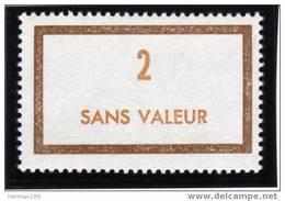 FRANCE FICTIF N° F183 ** Timbre Neuf Gomme D'origine Sans Trace De Charnière - TB - Phantomausgaben