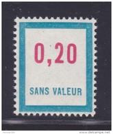 FRANCE FICTIF N° F143 ** MNH Timbre Neuf Gomme D'origine Sans Trace De Charnière -TB - Fictifs