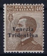 Italy: Venezia Trentino Tridentia Sa 24  MH/* Flz/ Charniere   Trentino Alto Adige  1918 - Trentino