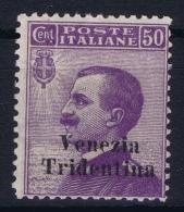 Italy: Venezia Trentino Tridentia Sa 26  MH/* Flz/ Charniere   Trentino Alto Adige - Trentino