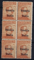 Italy: Venezia  Giulia Sa 23 Postfrisch/neuf Sans Charniere /MNH/** 6-block - Venezia Giulia