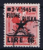 Fiume  Sa 21 Occupazione Jugoslavva Fiume   Used Cancelled Obl. - Occ. Yougoslave: Fiume