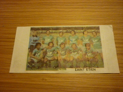 AS Saint-Étienne French Football Team Old Greek Trading Banknote Style Card From The '70s - Sports