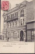 Transvaal PPC Oceana Buildings - Simmonds Street Johannesburg Frontside Franking  JOHANNESBURG 1906 Simple Backside - Südafrika