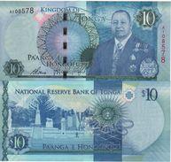 TONGA New  10 PAANGA     P46    NEW  KING   2015 - Tonga