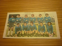 Kavala Greece Football Team Old Greek Trading Banknote Style Card From The '70s - Sports