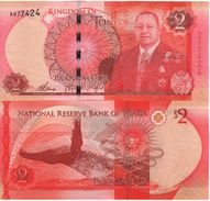 TONGA New  2   PAANGA     P44    NEW  KING   2015 - Tonga