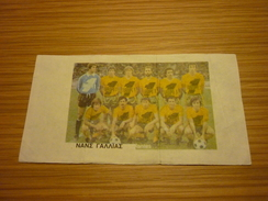 Nantes France French Football Team Old Greek Trading Banknote Style Card From The '70s - Sports