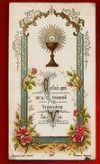 Image Pieuse Holy Card Communion André Servet Lycée De Longchamps Bordeaux 9-06-1904 - Ed Bonamy 237 - Images Religieuses