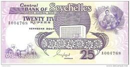 Seychelles - Pick 33 - 25 Rupees 1989 - Unc - Seychelles