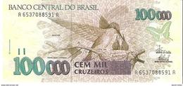 Brazil - Pick 235d - 100.000 (100000) Cruzeiros 1993 - Unc - Brésil