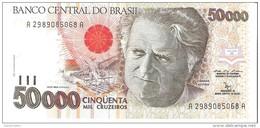 Brazil - Pick 234 - 50.000 (50000) Cruzeiros 1992 - Unc - Brésil