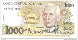 Brazil - Pick 231b - 1000 Cruzeiros 1990 - Unc - Brésil