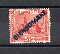 SARRE N° 8 - 1920-35 Saargebiet – Abstimmungsgebiet