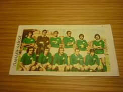Panathinaikos Greece Football Team Old Greek Trading Banknote Style Card From The '70s - Sports