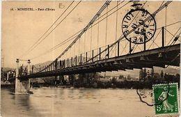 CPA  Morestel - Pont D'Evieu    (583895) - Non Classés