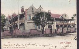 Cape Of Good Hope PPC Club Port Elizabeth Cape Town T. D. Ravenscroft PORT ELIZABETH 1906 (2 Scans) - Südafrika
