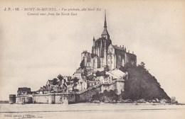 CPA Mont St Michel, Vue Générale Coté Nord Est (pk40229) - Le Mont Saint Michel