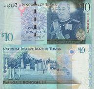 TONGA     10    PAANGA     P40      ( ND   2008 ) - Tonga