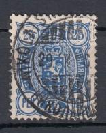 Finnland 25 P Wappen 1889 - 2 Kreis O - Gebruikt