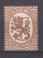 Finnland 20 P Wappen 1917 -  ** Postfrisch - Finland