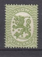 Finnland 30 P Wappen 1917 -  ** Postfrisch - Finland