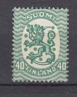 Finnland 40 P Wappen 1917 -  ** Postfrisch - Finland