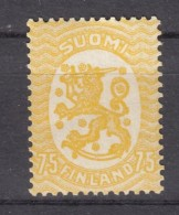Finnland 75 P Wappen 1917 -  ** Postfrisch - Finland
