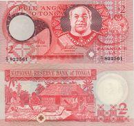 TONGA     2   PAANGA     P32d     ( ND   1995 ) - Tonga