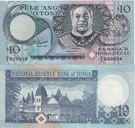 TONGA     10   PAANGA     P34c     ( ND   1995 ) - Tonga