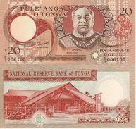 TONGA     20   PAANGA     P35c     ( ND   1995 ) - Tonga