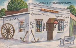 Florida Tarpon Springs The Anclote Company Shop On The Sponge Docks - Shops