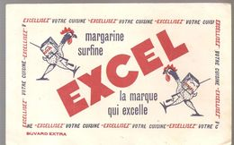 Buvard EXCEL Margarine Surfine EXCEL La Marque Qui Excelle - Dairy