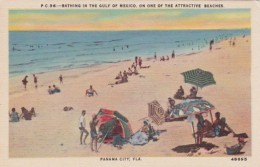 Florida Panama City Beach Bathing Scene Along The Beach
