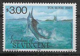 1985 SAINT VINCENT GRENADINES 411** Tourisme, Pêche Au Gros, Issu De Série - St.Vincent & Grenadines