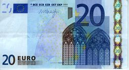 France - Mario Draghi - 20 € 2002 - Série U 87018155366 - L087b1 - Circulé - 20 Euro