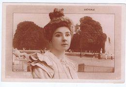 Dieterle, Artiste 1900, Reutlinger , Décor Parc De Saint Cloud - Theatre