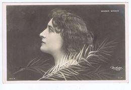 Second Weber, Artiste 1900, Reutlinger - Theatre