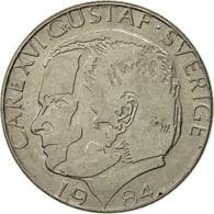 Suède, Carl XVI Gustaf, Krona, 1984, TTB, Copper-nickel, KM:852a - Suède