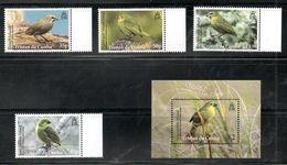 TRISTAN Da CUNHA, 2014,  BIRDS, 4v.+M/S. MNH** - Oiseaux